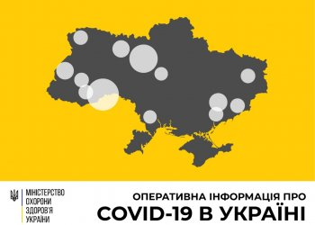 Оперативная информация на 1 апреля о распространении коронавирусной инфекции COVID-19 в Украине