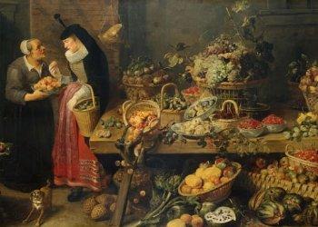 Многовековые картины помогают отслеживать эволюцию продуктов питания
