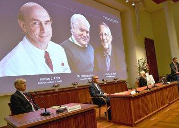 Нобелевскую премию  - 2020 по медицине дали за открытие вируса гепатита С в 1989 г.
